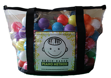 Bag of Balls for Musical Games with Initiation CD