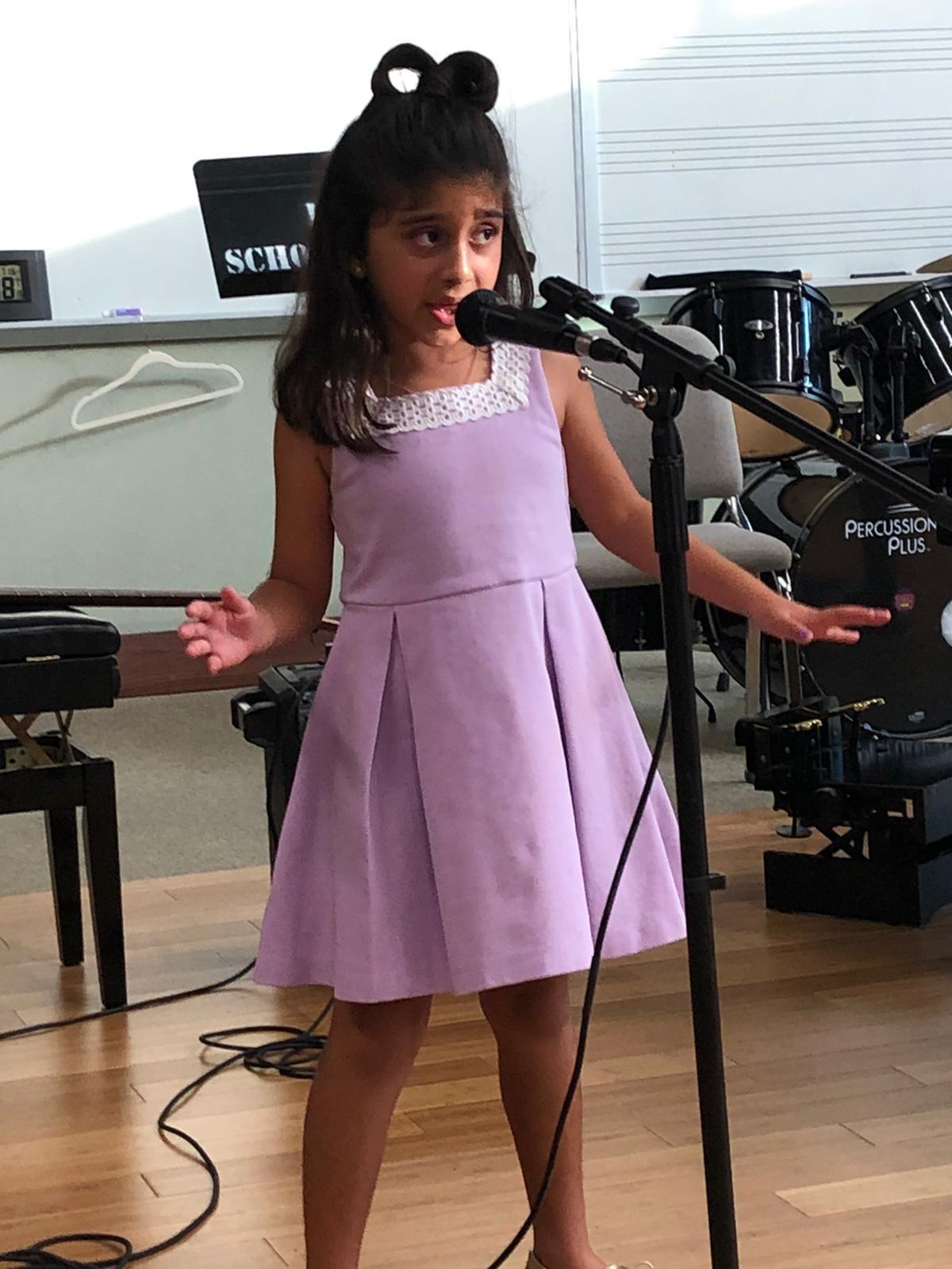 Voice Performance Sofia